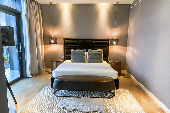 Deluxe Three Bedroom Plus Maids Room Duplex