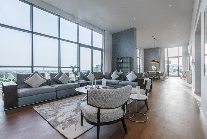 Deluxe Four Bedroom Plus Maids Room Penthouse