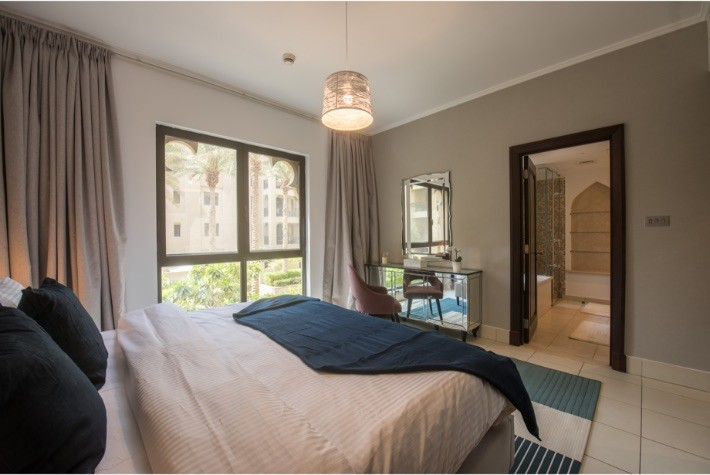 Deluxe Two Bedroom Plus Maids Room Apartment