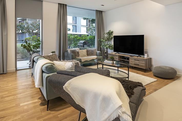 Deluxe Two Bedroom Plus Maids Room