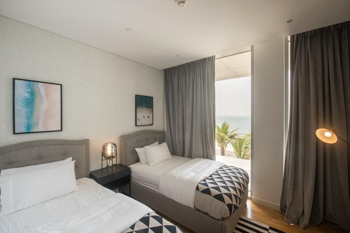 Deluxe Three Bedroom Plus Maids Room